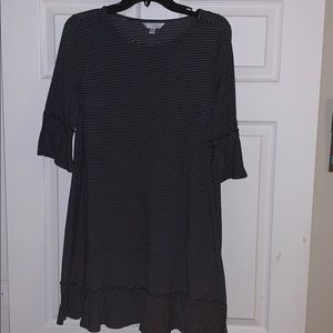 Size medium Lauren Conrad stripped dress